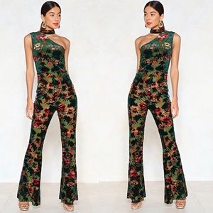 Beautiful floral one piece